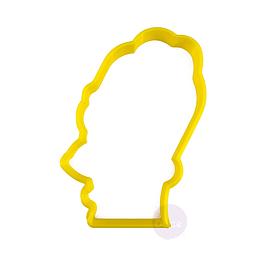 Cortador Plástico Homero - Los Simpsons