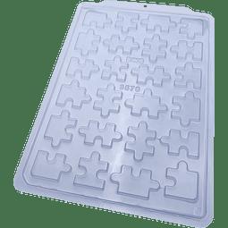 Molde Chocolate Plástico BWB Rompecabezas - 3570