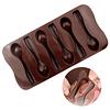 Molde Chocolate Cuchara Silicona