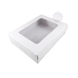 Caja Cartulina Profiteroles 20x15x5 cm.