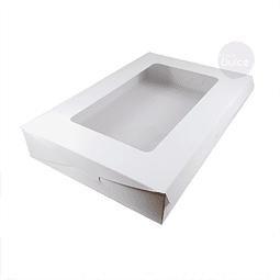 Caja Cartulina Profiteroles 30x20x5 cm.