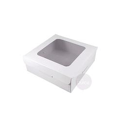 Caja Cartulina Profiteroles 14x14x5 cm.