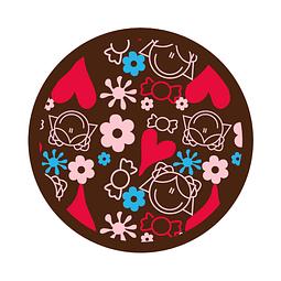 Transfer para Chocolate Niña 03-419