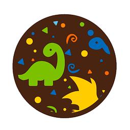 Transfer para Chocolate Dinosaurios 04-634