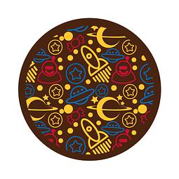 Transfer para Chocolate Espacio 03-422