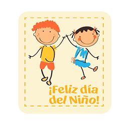 Transfer para Chocolate Feliz Día del Niño 05-371