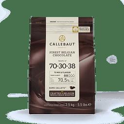 Chocolate Callebaut Negro 70-30-38 2,5 kg.