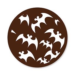Transfer para Chocolate Murcielagos 01-004