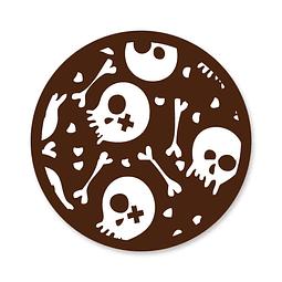 Transfer para Chocolate Huesos 01-227