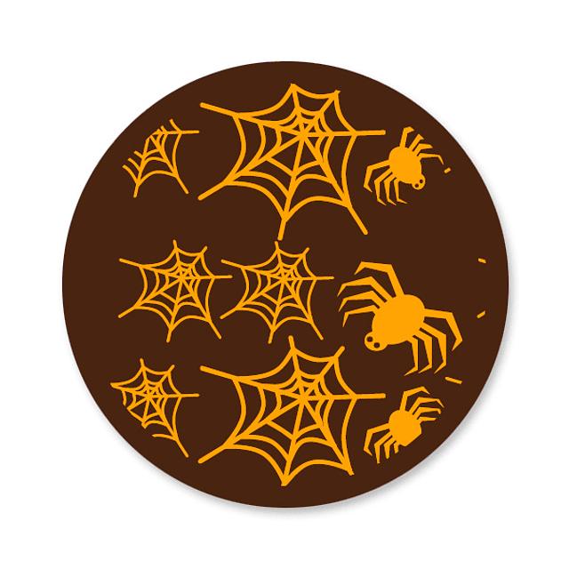 Transfer para Chocolate Arañas 01-005