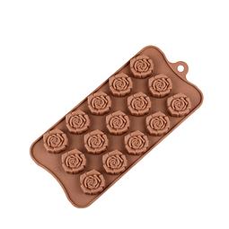 Molde Chocolate Rosas 2 Silicona