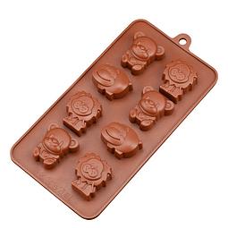 Molde Chocolate Animales Silicona