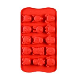 Molde Chocolate Caritas de Animales Silicona