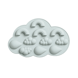 Molde Silicona Nubes y Arcoiris