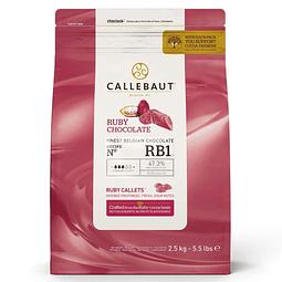 Chocolate Callebaut Ruby RB1 2,5 kg.