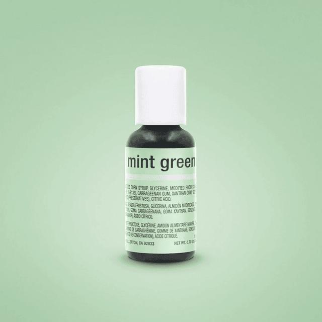 Colorante Gel Mint Green Chefmaster 20 gr.