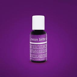 Colorante Neón Brite Purple Chefmaster  20 gr.