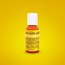 Colorante Neón Brite Yellow Chefmaster 20 gr.