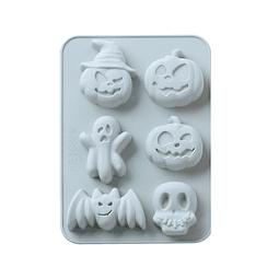 Molde Silicona Halloween Festival 6 Cavidades