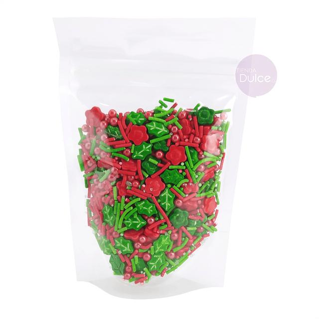 Decoración Premium Flores Muerdagos 70 gr.