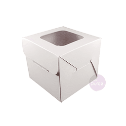 Caja Cartulina para Galletas 9x9x8 cm.