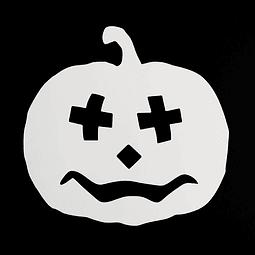 Stencil Halloween Calabaza N°6