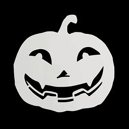 Stencil Halloween Calabaza N°4