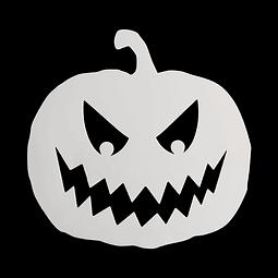 Stencil Halloween Calabaza N°1