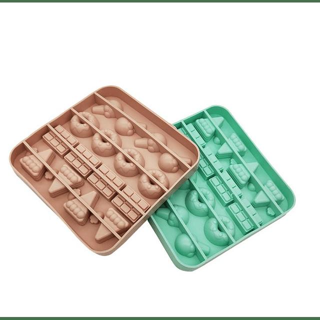 Molde Silicona Candy Chocolate