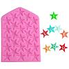 Molde Fondant Alfabeto Estrellas Silicona