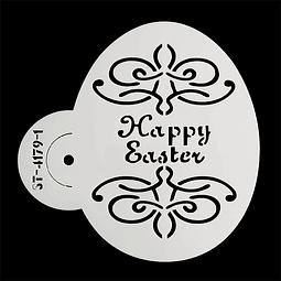 Stencil Pascua Huevo 4172-1