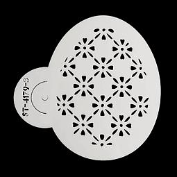 Stencil Pascua Huevo 4172-3