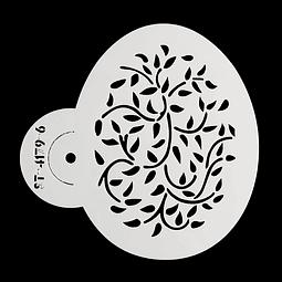 Stencil Pascua Huevo 4172-6