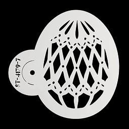 Stencil Pascua Huevo 4172-7