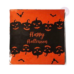 Papel Ceresinado Happy Halloween 100 Unid.