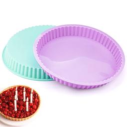 Molde Tartaleta Silicona 26.5 cm.