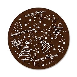 Transfer para Chocolate Merry Christmas 01-031