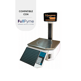 Qr-870 scale with printer and displey