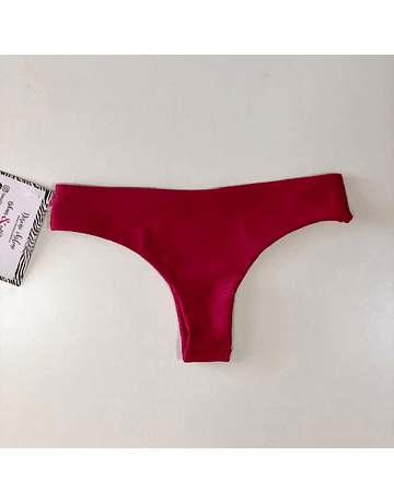 Culotte Raspberry red