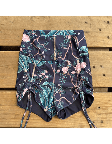 Shorty jardin floral