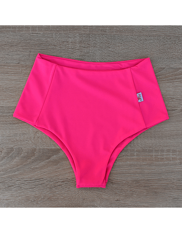 Fuchsia high-waisted briefs