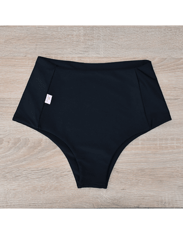 Black high-waisted brief