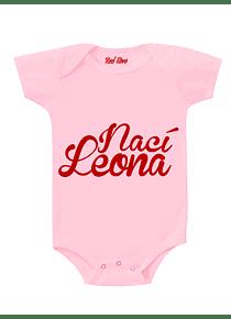 Body Rosado Talla 6-9 meses - Nací Leona