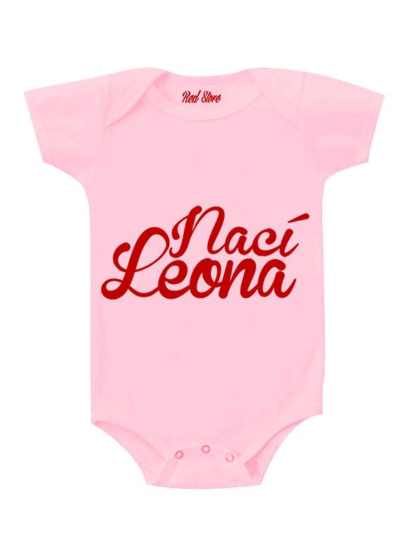 Body Rosado Talla 0-6 meses - Nací Leona