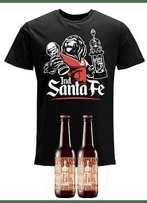 Camiseta - Negra - TALLA M (+2 cervezas)