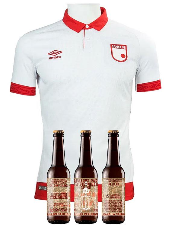 Camiseta 2019 - Hombre - Blanca - Talla L (+ 3 cervezas)