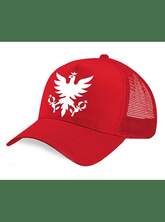 Gorra de Malla Roja - Águila