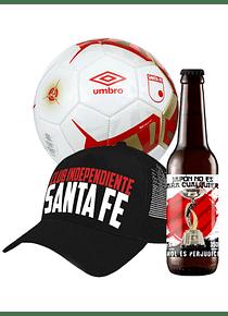 Balon + gorra + cerveza