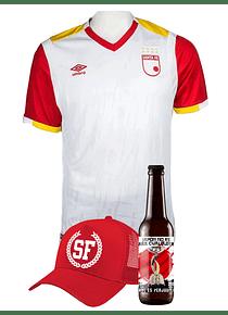 (Camiseta - Blanca 2017 - Talla L) + Gorra + Cerveza
