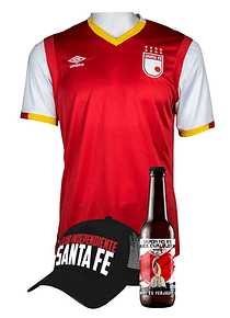 (Camiseta - Roja 2017 - Talla M) + Gorra + Cerveza